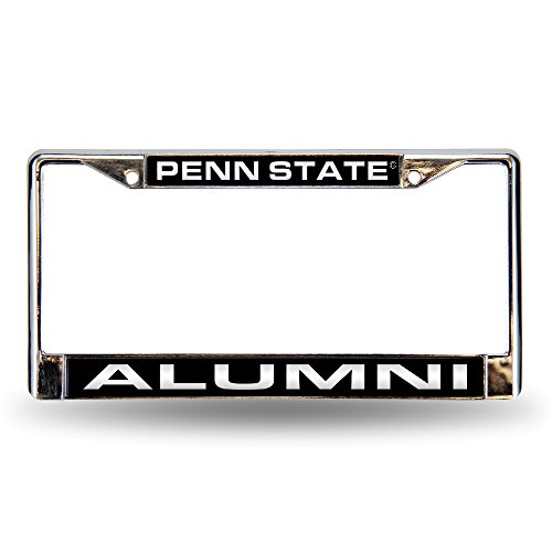 Rico Industries RIC-FCL210206C Penn State Nittany Lions NCAA Laser Chrome License Plate Frame