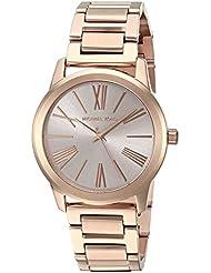 Michael Kors Womens Hartman Rose Gold-Tone Watch MK3491