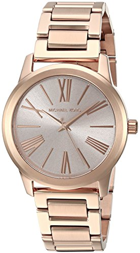Michael Kors Women's Hartman Rose Gold-Tone Watch MK3491