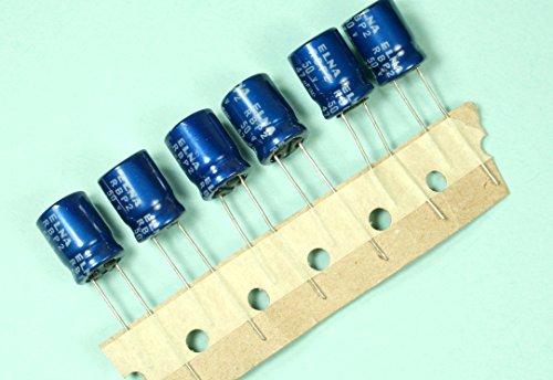(NB #11) 10pcs Elna 47uF 50v Bipolar Non-polar Radial Electrolytic Capacitor BP NP (11 Electrolytic Capacitor)