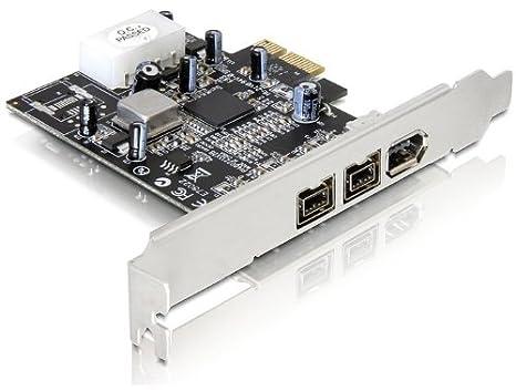 DeLOCK PCI Express Card FireWire A/B Tarjeta y Adaptador de Interfaz