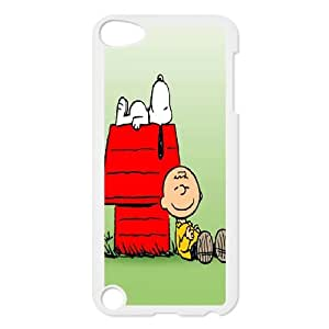 iPod Touch 5 Phone Case Charlie Brown and Snoopy T8T92108