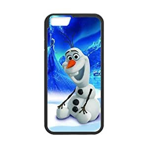 Olaf iPhone 6 Plus 5.5 Inch Cell Phone Case Black VBS_3638914