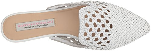 Chinese Leather Women's Kristin Laundry Mule Camille Cavallari White 88FOnH