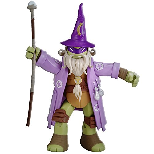 Teenage Mutant Ninja Turtles Donatello Wizard Live Action Role Play Figure (Action Figure Wizard)