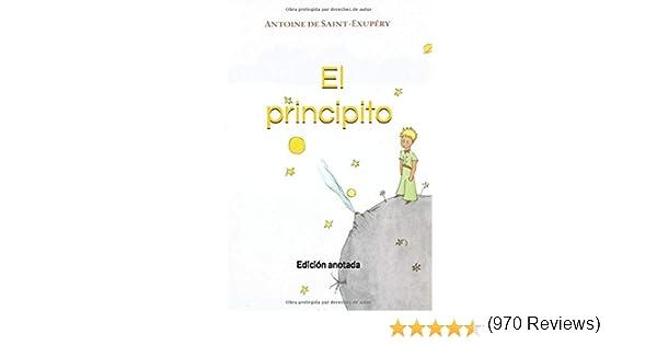 El principito: Edición anotada: Amazon.es: de Saint-Exupéry ...