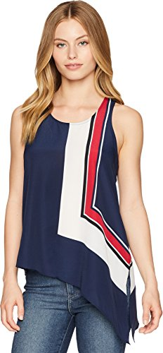 (Joie Women's Edweina Sleevless Tank, Dark Navy, m )