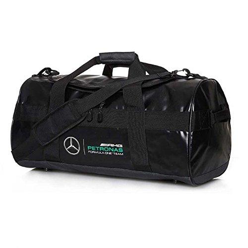Mercedes Benz AMG Petronas Formula 1 MAMGP Black Sports Bag by Mercedes AMG