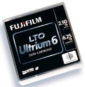 Fuji 16310732 New Sealed LTO-6 Ultrium Tape 2.5TB/6.25TB.