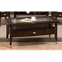 Jofran: 827-1, Montego, Rectangle Cocktail Table, 44W X 24D X 20H, Merlot Finish, (Set of 1)