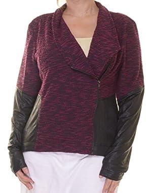 Jessica Simpson Faux-Leather Jacket Size XL