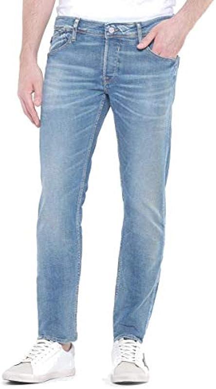 Japan Rags Jeans 700/11 Slim Stretch Hellblau L32: Odzież