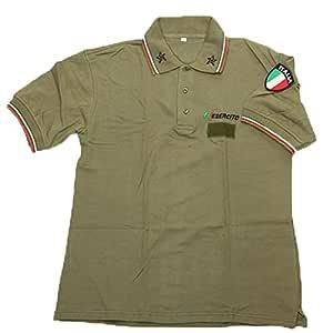 Polo para hombre del ejército italiano, para verano, de algodón ...