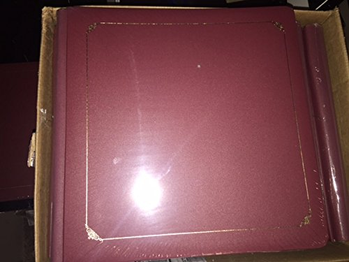 Creative Memories Non True Red Mahogany Coverset Album with 15 White Pages