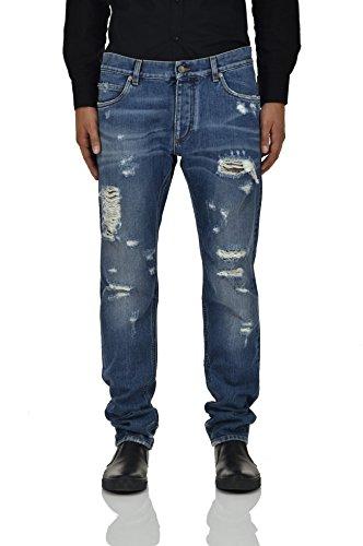 Dolce&Gabbana Classic Jeans Tag Men - Size: 50 - Color: Blue - New