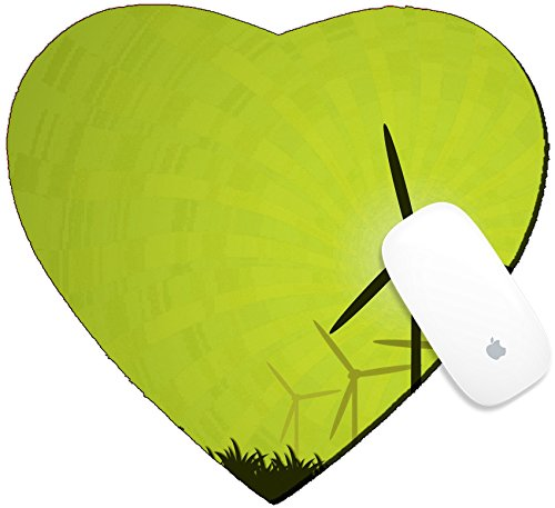 Amazon Luxlady Mousepad Heart Shaped Mouse Padsmat Design