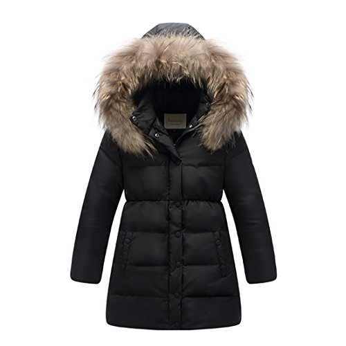Quilted Long Down Coat - 6