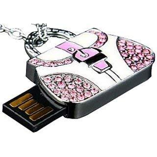 Microware 16  GB Handbag Metal Lady Bag Shape Designer Pen Drive
