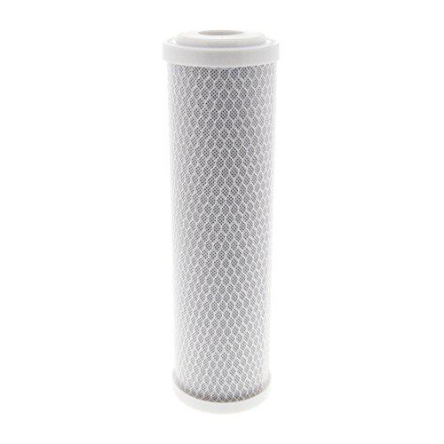 Tier1 EPM-10 10 Micron 10 x 2.5 Carbon Block Pentek Comparable Replacement Water Filter -