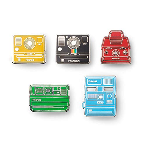 - Polaroid Originals Enamel Camera Pin Badge - Collector's Kit (4689)