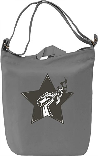 Molotov cocktail Borsa Giornaliera Canvas Canvas Day Bag| 100% Premium Cotton Canvas| DTG Printing|