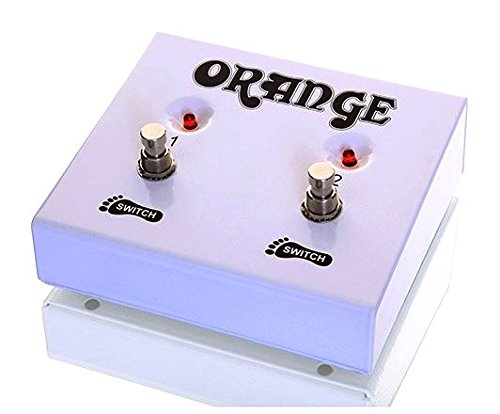 Orange Amplifiers FS-2 2-Button Dual Guitar Footswitch by Orange Amplifiers