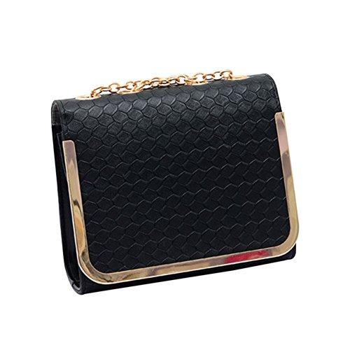 A Delle In Caramella Nero Hrph Colore Di D'epoca Tracolla Pu Messenger Donne Borsa Modo Piccolo Borse Pelle Bag IFPZnxCqw