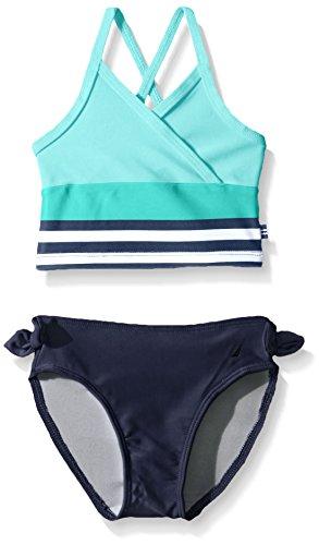 Nautica Sportswear Girls Stripe Tankini
