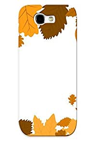 For Case HTC One M8 Cover Defender(autumn Leaves) Gift For Christmas