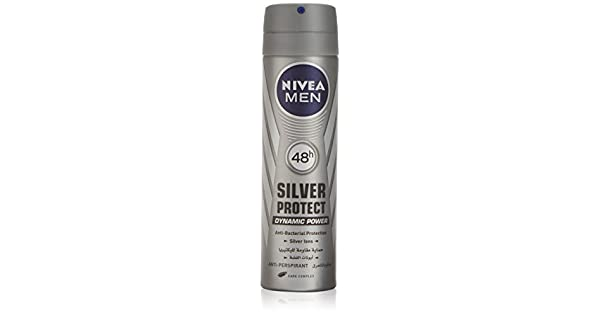 53b40a5c3 Nivea Silver Protect Deodorant Spray for Men 150ml: Amazon.ae: VNANKANI_uae