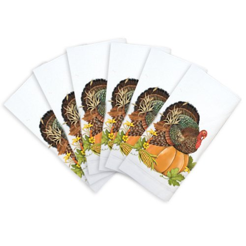 UPC 879698056466, Turkey on Pumpkin Napkin Bundle