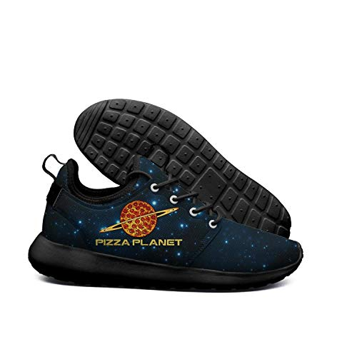 DEEEWKF planet pepperoni pizza Womens 2018 Ultra Lighweight skate shoes -