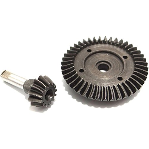 Hot Racing SWRA9433 43t/13t Steel Helical Diff Ring/Pinion Underdrive Gear Set