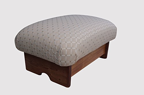 KR Ideas Padded Foot Stool, 7