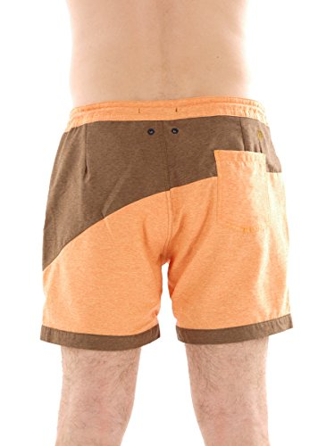 Brunotti Boardshort Badehose Coscos Beachwear orange Tunnelzug Netz Gr. L 161214621