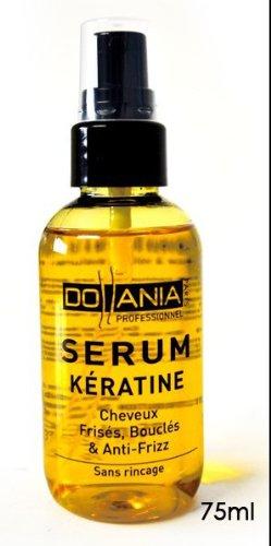 Serum a base de keratine pour cheveux