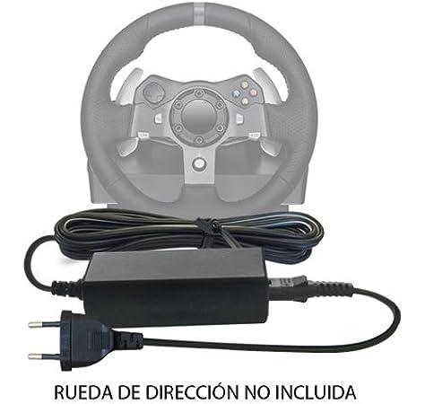 Reemplazo del Cable de DC 24V Adaptador Fuente de alimentación de Corriente para Xbox 360, One Microsoft, Sony PS2, PS3, PS4, Logitech G25, G27, G29, G920, G940 ...