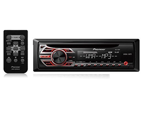 Pioneer Deh-150Mp Cd Mp3 Stereo Player Receiver With Remote Control (Certified Refurbished)