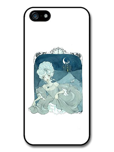 New Fairy Tale Cinderella Cool Illustration Fashion Style in Blue coque pour iPhone 5 5S