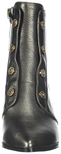 Dark Gold Women's Metallic Nine West Ellsworth Boot Ankle fRRTwq