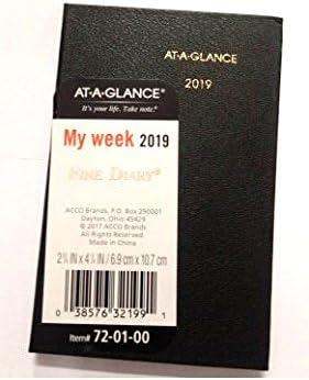 Amazon.com: at-a-g.Ance mi semana 2019 72 – 01 – 00 – fina ...