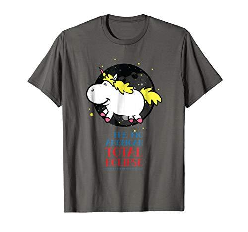 Price comparison product image Unicorn Solar Eclipse 2017 Shirt | Sun Eclipse T-Shirt