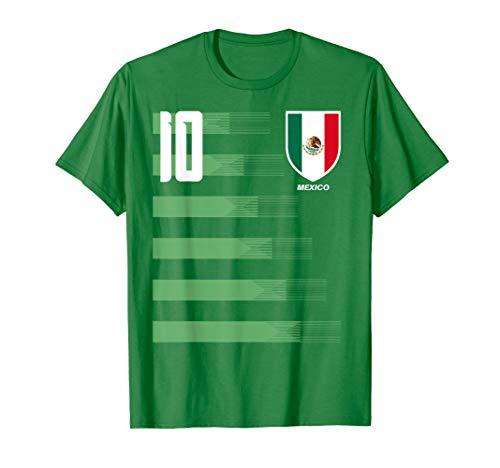 Mexico Mexican El Tri Futbol Soccer Jersey Shirt Tee