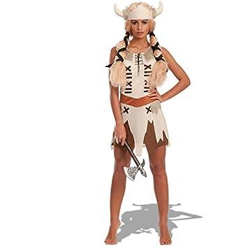 Carnival Toys - Disfraz vikinga en bolsa, talla única, color beige ...