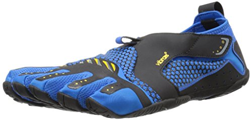 Vibram Men's Signa Athletic Boating Shoe, Blue/Black, 46 EU/11.5-12 M US