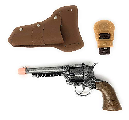 Big Tex Cowboy Collection Cap Pistol and Holster Set for Cosplay