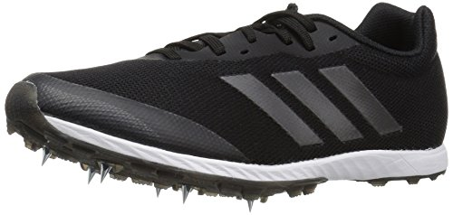 adidas Women's XCS Running Shoe, Black/Night Metallic/Carbon, 7.5 M US