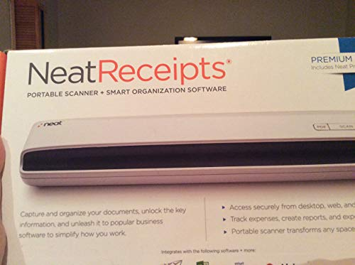 Neat NeatReceipts Premium Sheetfed Mobile Scanner Multi 2005137