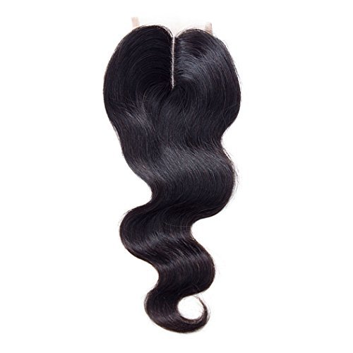 Brazilian Virgin Hair Body Wave Lace Closure Middle Part Virgin Human Hair Body Wave Lace Closure Middle Part Unprocessed Virgin Human Hair (14