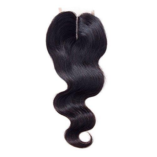Brazilian Body Wave Lace Closure Middle Part Brazilian Virgin Human Hair Middle Part Lace Closure Body Wave Virgin Human Hair 7A Virgin Human hair Lace Closure